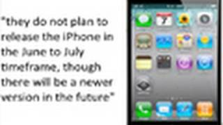Download AT&T Confirm No iPhone 5 In June Or July! iPhone 5 September Rumors getting Stronger! Video