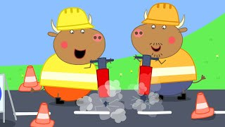 Download Peppa Pig Full Episodes | Mr Bull's New Road | Cartoons for Children Video