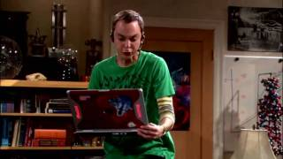 Download Funny scene from ″the big bang theory″ *german* Video