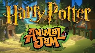 Download How to Create a HOGWARTS Den [Animal Jam Speed Decoration] Video
