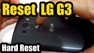 Download How to Reset LG G3 (Power+Volume Buttons) Video