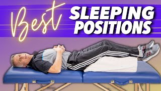 Download Best Sleeping Position for Back Pain, Sciatica, & Leg Pain (Great Tips) Video