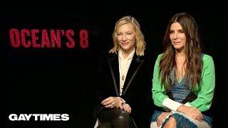 Download Sandra Bullock & Cate Blanchett talk queer undertones in Ocean's 8 Video