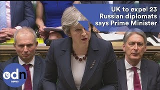 Download UK to expel 23 Russian diplomats says Prime Minister Video