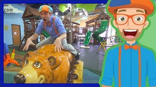 Download Educational Videos for Toddler by Blippi | An Indoor Playground Play Place Video