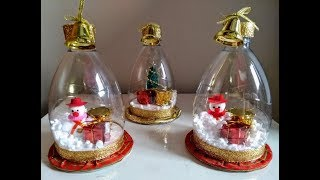 Download DIY Globo de Neve com reciclagem - DIY Snow Globe - DIY Globo de Nieve Video