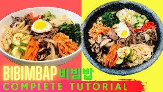 Download AUTHENTIC Bibimbap (비빔밥 Korean Mixed Rice) & Dolsot-Bibimbap (돌솥비빔밥 Korean Stone Pot) Video