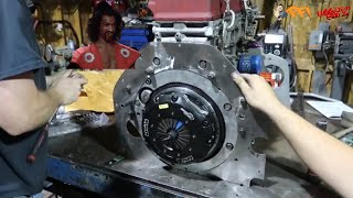 Download SHO'NUFF we set up the Clutch and Throwout bearing shimming Video