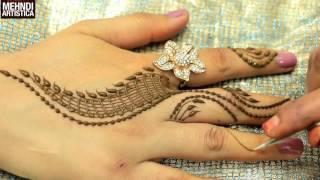 Download Romantic Girlish Mehndi Designs Within 2 mints Trendy Henna Mehendi Art Tattoo MehndiArtistica Video