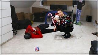 Download CHRISTMAS INDOOR FOOTBALL CHALLENGE! Video