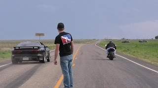 Download 88mm turbo Trans-Am vs stretched ZX10 - DIG RACE! Video