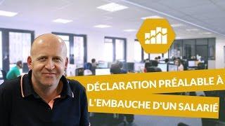 Download La déclaration préalable à l'embauche d'un salarié : DPAE - Ressources humaines - digiSchool Video