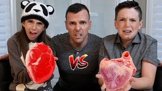 Download GUMMY FOOD vs REAL FOOD!! - Gross Edition Video
