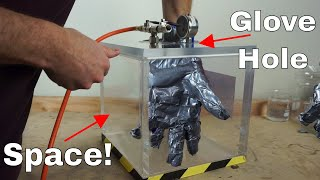 Download Could You Make a Space Suit Out of Duct Tape? Wearing a Duct Tape Glove in a Vacuum Chamber! Video