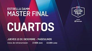 Download Cuartos de final masculinos Jueves - Estrella Damm Master Final 2018 Video