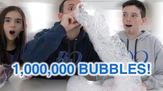 Download DIY BUBBLE SNAKE! 1 MILLION BUBBLES! Video