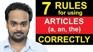 Download Articles (a, an, the) - Lesson 1 - 7 Rules For Using Articles Correctly - English Grammar Video