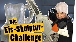 """Download Challenge: Säge eine Eis-Skulptur    """"Das schaffst du nie!"""" Video"""