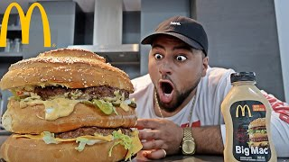 Download DIY GIANT MCDONALD'S BIG MAC!! (WORLD RECORD) Video