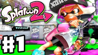 Download Splatoon 2 - Gameplay Walkthrough Part 1 - Turf War Multiplayer! Single Player! (Nintendo Switch) Video