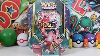 Download Opening A Pokemon Volcanion EX Tin!! Video