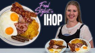 Download IHOP Food Styling Tricks | How to Make Insta Worthy Breakfast Platter | Food Stylist Vs IHOP Video