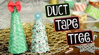 Download DIY Duct Tape Christmas Tree // Holiday & Winter Decor How To // Collab with TheFrugalCrafter Video
