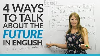 Download Learn English Tenses: 4 ways to talk about the FUTURE Video