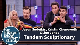 Download Tandem Sculptionary with Jason Sudeikis, Kristin Chenoweth and Joe Jonas Video