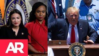 Download ¿Por qué Donald Trump pelea contra cuatro congresistas de ascendencia migrante? Video