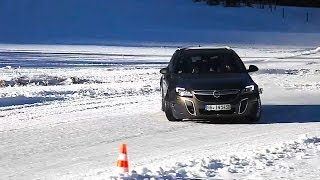 Download Opel Insignia Sports Tourer OPC ice test - Opel OPC models on snow - Autogefühl Autoblog Video