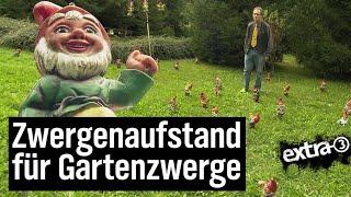 Download Realer Irrsinn: Gartenzwerg-Diskriminierung | extra 3 | NDR Video