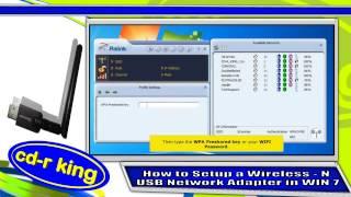 Download WIRELESS-N USB NETWORK ADAPTER IN WINDOWS 7 INSTALLATION (WU-NETA-001-R) Video