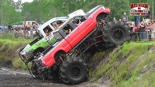 Download King Krush Monster Truck in All Day Mud Bog Beatin' Video