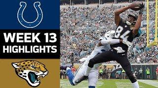 Download Colts vs. Jaguars | NFL Week 13 Game Highlights Video