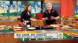 Download Guy Fieri's Super Bowl Appetizers Video