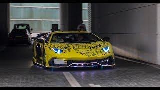 Download 【都内】 ランボルギーニたちの爆音空ぶかしサウンド Supercar in Tokyo. Video