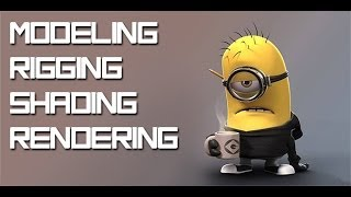 Download Recreate a Minion in Maya 2013 Tutorial Series - 3D Modeling - Part 1A Video