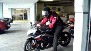 Download First Ride on GSXR 750 Video