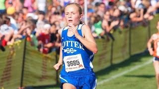 Download Grace Ping, 7th grader, takes down the ENTIRE 2015 Roy Griak high school field Video