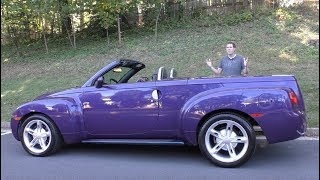 Download The Chevy SSR Was a Crazy $50,000 Retro Convertible Pickup Truck Video