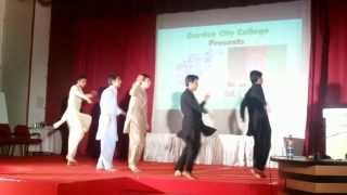 Download Afghan Students Attan Dance in Garden city college India Bangalore Video