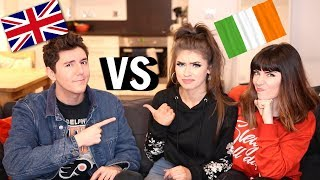 Download IRISH SLANG VS BRITISH SLANG!   Jessie B, Melanie Murphy & MyNamesChai Video