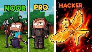 Download Minecraft - NOOB vs PRO vs HACKER - HUNGER GAMES in minecraft! Video