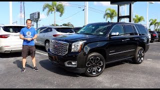 Download Is the 2019 GMC Yukon Denali Ultimate Black Edition the KING of SUVs? Video