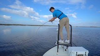 Download CRAZY Sight Fishing Redfish on The Flats. Video