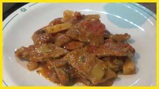 Download Carne alla pizzaiola con olive, capperi, carciofini e prezzemolo - Le Ricette di zio Roberto Video
