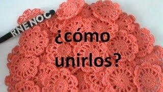 Download COMO #UNIR #FLORES #MOTIVOS COMPLETOS #GANCHILLO #CROCHET Video