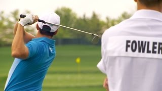 Download Rickie Fowler's pre-round warm-up routine Video