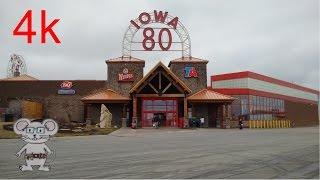 Download World's Largest Truckstop (Iowa 80) Walcott, Iowa in 4K Video